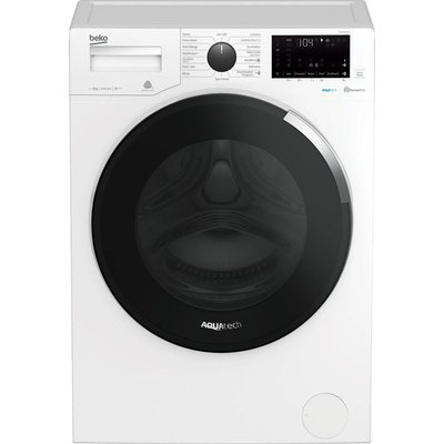 Beko WY84044EW 8Kg Washing Machine with 1400 rpm - White - A+++ Rated