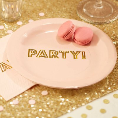 Pastel Perfection - Party Paper Plates (Pack of 8)