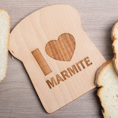 Personalised Bread Slice Board