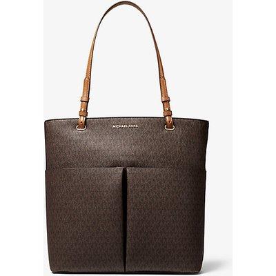 MICHAEL KORS Shopper Bedford Large Aus Logostoff Mit Aufgesetzter Tasche