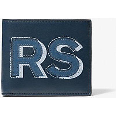 "MK Cooper ""Kors"" Leather Wallet - Vintage Indigoblau(Blau) - Michael Kors"