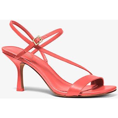 MK Sandale Tasha Aus Leder - Pink Grapefruit(Rosa) - Michael Kors