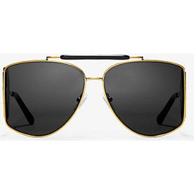 MK Nash Sunglasses - Schwarz/goldton(Goldton) - Michael Kors