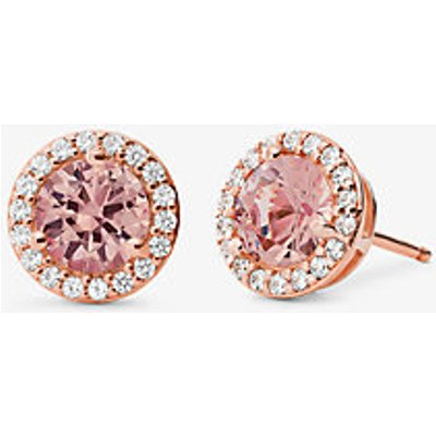 MK 14K Rose Gold-Plated Sterling Silver Stone Stud Earrings - Rotgoldton(Rotgoldton) - Michael Kors