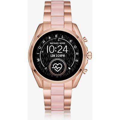 MK Smartwatch Gen5 Bradshaw Im Rosé-Goldton Mit Azetatdetails - Rotgoldton(Rotgoldton) - Michael Kors