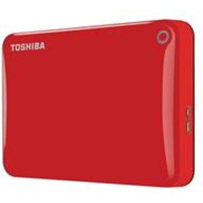 Toshiba Canvio Connect II Hard Drive USB 3 0 and 2 0   HDTC805ER3AA - 04051528174571