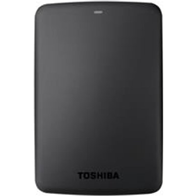 Toshiba Canvio Basics Hard Drive USB 3 0 and 2 0   HDTB305EK3AA - 04051528143850