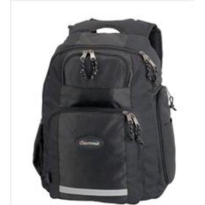 LightPak Safepak Backpack With 12in Laptop Case Nylon Black   46053 - 04021068460533