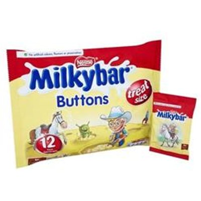 Milky Bar Buttons White Chocolate Mini Bags 189g   12132820 - 07613031894987