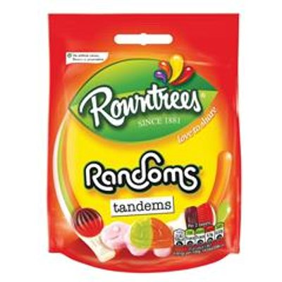 Rowntree Randoms Bags 150g Jelly Sweets   1227320 - 08593893751743