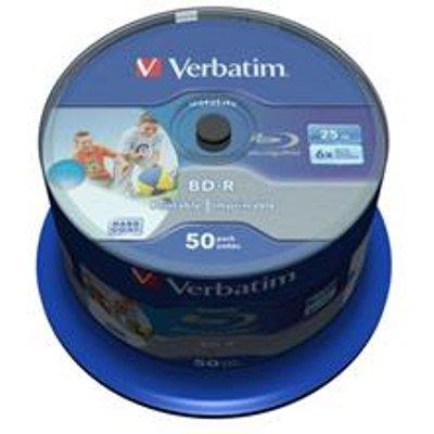 Verbatim Blue-Ray Disc IJ Printable [Pack 50] - 43812