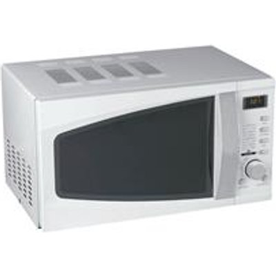 5 Star Facilities Microwave Oven 800W Digital 20 Litre White - 05018206114440