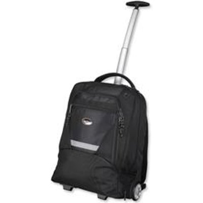 04021068460052 | Lightpak Master Laptop Backpack with Trolley Nylon Capacity 15 4in Black Ref 46005