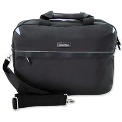 04021068461127 | Lightpak Laptop Bag Top Load with 15in Laptop Compartment Nylon Black Ref 46112