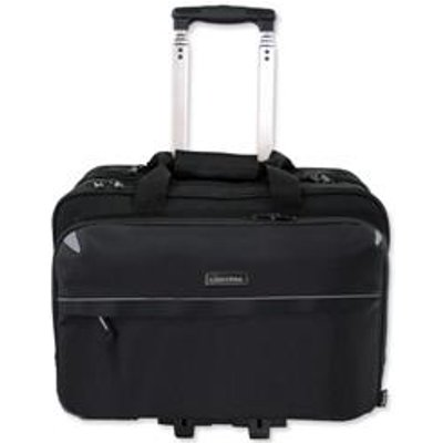 04021068460991 | Lightpak Business Trolley Bag with Laptop Compartment Nylon   46099