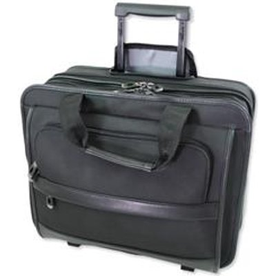 Lightpak Business Trolley Laptop Nylon Capacity 17in Black Ref 92707 - 04021068927074
