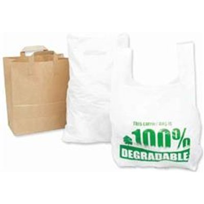 Carrier Bag 280 X 430 X 533Mm (11 X 17 X 21) High Tensile Eco - IMAGE