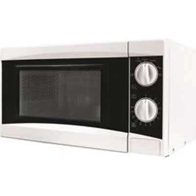 5 Star Manual Microwave Defrost and 5 Power Levels 800W 20 Litre White - 05055322508944