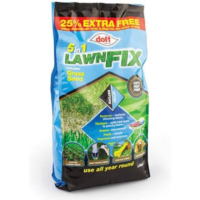 Doff 5-in-1 Lawn Fix - 2.5Kg bag