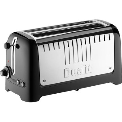 Dualit 2 Slot Long Lite Toaster  Black Gloss - 619743460257