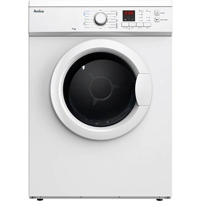 """""""""""The ADV7CLCW is a freestanding vented tumble dryer, including a 7kg dry load, LED display, anti crease function and vent kit for ease of use.  """""""" 7kg Tumble Dryer Vented LED Display White"""