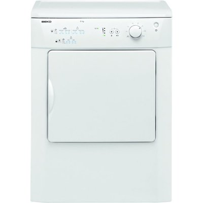 """""""""""With a large 6kg load,the Beko DRVT61W is the perfect dryer for any household.The LED progress indicator lights let's you know how long is left on the cycle, so you don't have to guess when it will finish. The large door allows for easy loadin"""