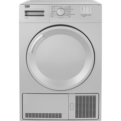 """""""""""This 7kg condenser tumble dryer uses sensor programmes to automatically detect the level of dampness in your garments, stopping the cycle when the perfect level of dryness has been achieved.  Preventing over-drying, our sensor drying programme"""