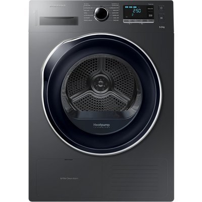 Innovative Heat Pump technologymeans that Samsung's tumble dryers offer fantastic energy efficiency as well as superb drying performance. With an A++ energy rating, it uses 'refrigerant' instead of electricity to heat the air. So it consumes s