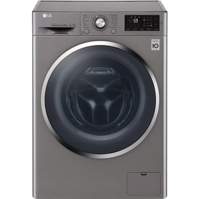 1400rpm DD Washing Machine 8kg Load Class A+++ Steel