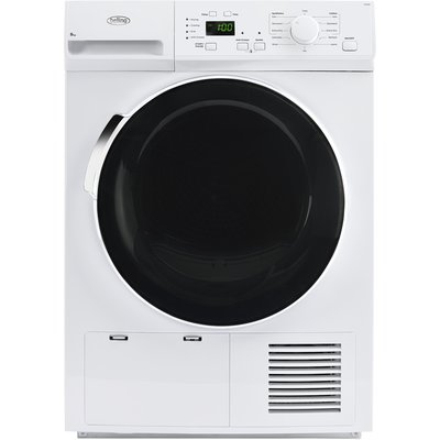 """""Introducing the stylish Belling 8kg FCD800 Condenser Tumble Dryer, featuring a LED display, 12 programmes, Dry+, Anticrease, Delay Start and many other useful functions. B energy rating.  The Dry+ function allows you to choose from three diffe"