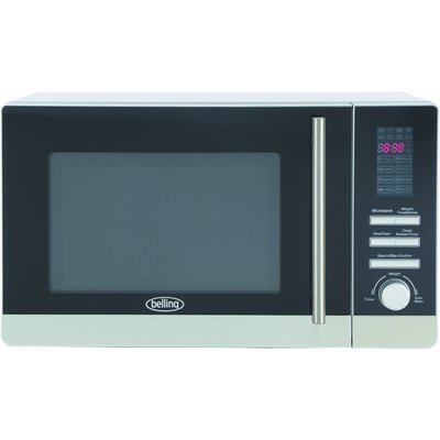 Belling FM2080S 20 Litre  800w Solo Microwave Oven in Stainless Steel 444444304 - 5052263043046