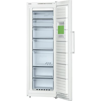 Bosch GSN33VW30G Tall Freezer  A   Energy Rating  60cm Wide  White - 4242002693781