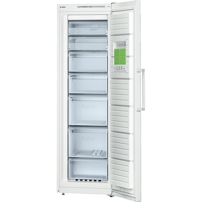 Bosch GSN36VW30G Freezer  A   Energy Rating  60cm Wide  White - 4242002693910