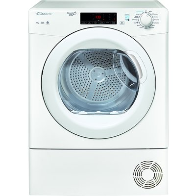 """"" """" 9kg Load Condenser Tumble Dryer Sensor Dry White"