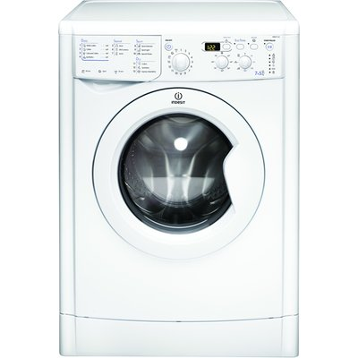 Indesit IWDD7123 Washer Dryer  7kg Wash 5kg Dry Load  B Energy Rating  1200rpm Spin  White - 8007842666618