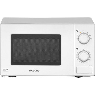 700Watts Compact Microwave Manual Dial 20litres White - 5031117813165
