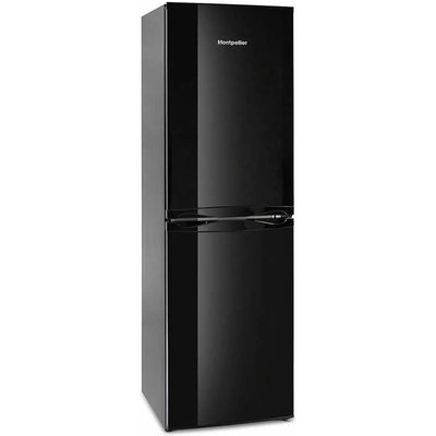 214litre Fridge Freezer Frost Free Class A+ Black