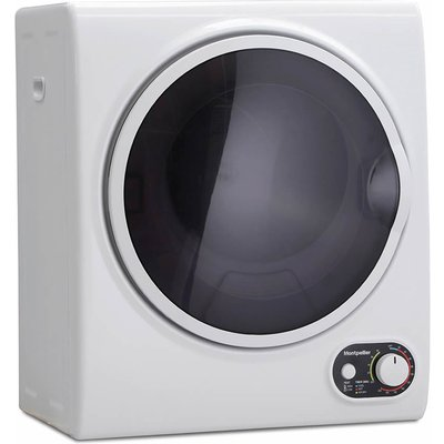 """""Tumble dryers are an essential for the British Autumn/Winter seasons. Our MTD25P compact freestanding vented tumble dryer, although tiny, packs quite a punch. If you thought you didn't have space for a tumble dryer, think again. The MTD25"