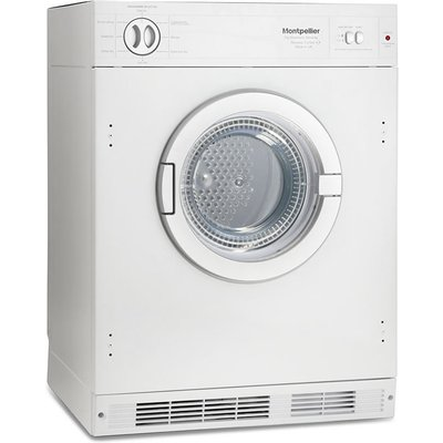 """""The MTDI7S tumble dryer is a vented sensor dryer with a 7kg load a reverse action feature and comes with 8 programmes and 2 heat settings.  """" 7kg Integrated Tumble Dryer Vented Class C"