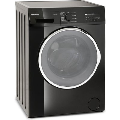 Montpellier MWD7512K 7kg 5kg 1200 Spin Washer Dryer in Black  2 Years Parts   Labour Guarantee - 5055862303184