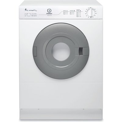 The NIS41V compact front vented Tumble Dryer from Indesit Appliances is ideal for small homes and where the space is at a premium, this 4 kg dryer will take care at drying your laundry when the weather is too bad outside to put on the washing line, the ve