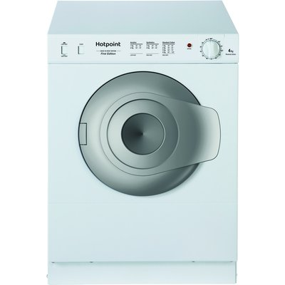 4kg Load Compact Tumble Dryer White NV4D01P