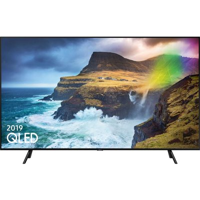 """""""""""and connect through SmartThings*.  * Compatible phone and app requir - 82inch QLED UHD 4"""
