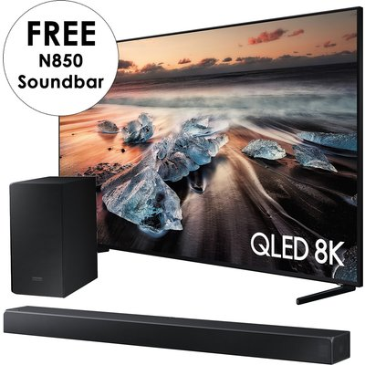 """""""""""The Samsung QLED 8K Q900R plunges you into the most detailed perspec - 75inch QLED UHD 8"""