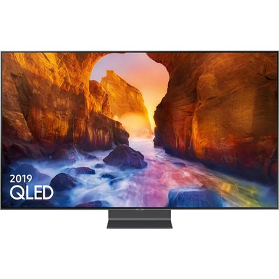 """""""""""any time and be withdrawn from the product without notice.  Smart Hu - 75inch QLED UHD 4"""