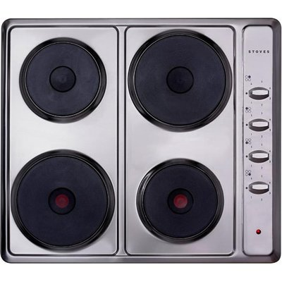 Stoves SEH600S Sealed Plate Electric Hob in Stainless steel 5052263008380