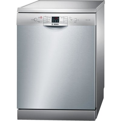 Bosch Serie 6 SMS53M08UK Free Standing Dishwasher in Silver - 4242002964522