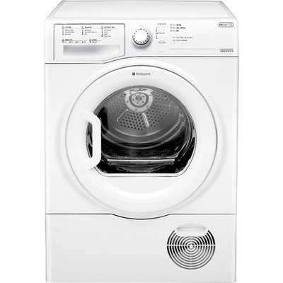 """""The Hotpoint TCFS83BGP condenser dryer comes in a stylish black finish. The versatility of a Condenser dryers becomes apparent when you can be place it anywhere in the home as there is no need to vent the exhaust air outside. It has"
