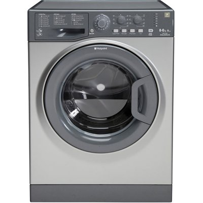 Hotpoint WDAL8640 washer dryers  in Graphite - 5054645016143