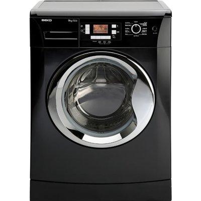 1200rpm Washing Machine 9kg Load Class A++ Black